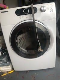 White and black front-load clothes washer Virginia Beach