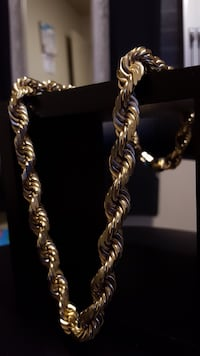 14K Gold Rope Chain Pearl City, 96782