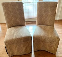 Tuxedo Dining Room Chairs