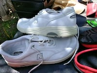 pair of white new balance shoes Port St. Lucie, 34983