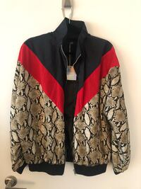 *new* Missguided Tall Snake print windbreaker - wmn's US size 8 Toronto, M5V 3Y5