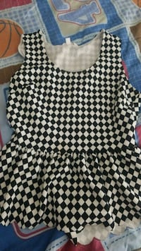 black and white checked sleeveless dress Kennewick, 99338