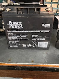 12v Battery And Charger