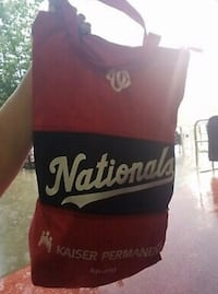 Nationals expandable beach bag Arlington