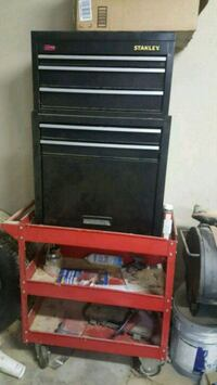 red and black tool cabinet Jacksonville, 72076