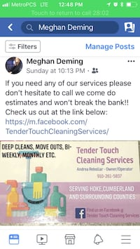 House cleaning 294 mi