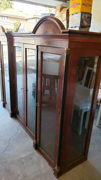 New price! Dining Cabinet, Table and 6 chairs Vancouver, V6M 2B8
