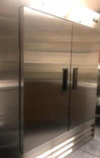 Stainless steel side-by-side refrigerator Las Vegas