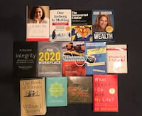 Lot of leadership and self-help books Steilacoom, 98388