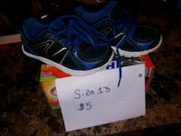 Size 13 starter sneakers Rehoboth, 02769