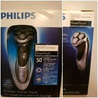 blue and black Braun shaver box Longueuil