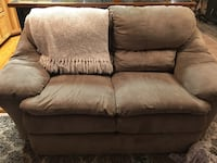 Sofa, love seat, and chair (no in picture but the same look) willing to negotiate price Spanish Fork, 84660