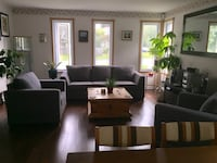 Living room couch and 2 arm chairs Montréal, H9J 3L7