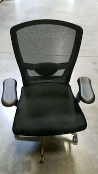 black and gray rolling armchair Calgary, T2X