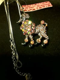 Brooch &  Necklace animal image by BetseyJohnson