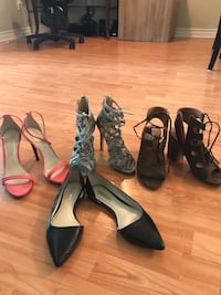 Heels and Flats size 6.5 women  Toronto, M5E 1B2