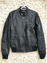 Scotch & Soda Men's Leather Jacket Size Small