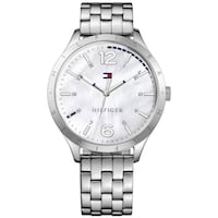 TOMMY HILFIGER Mother Of Pearl Dial Ladies Stainless Steel Watch