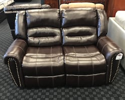 Loveseat Recliner Leather