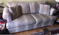 3-seat Gently used Sofa and so Comfy nothing wrong with it, just don't have the space to store it, bought at Leon store in smoke free and petfree home pickup only Kennedy and Sandalwood Brampton, L6Z