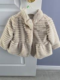 Mayoral 12 months faux fur jacket