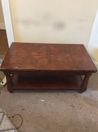 rectangular brown wooden coffee table Annandale, 22003