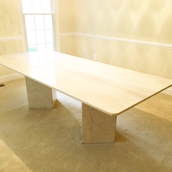 Stunning Custom Made Marble Table Seats 8