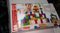 Hape Maple Wood Kid's Builidng Blocks in Assorted Shapes and Sizes  12 months and Up. Non toxic and safe for kids.  Brand new in the box.  VIEW MY OTHER ADS!!!  Toronto
