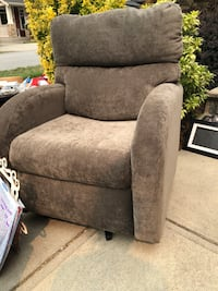 Smaller sized swivel chair. New from our trailer. Prompt pick up please  Coquitlam, V3C 3L2