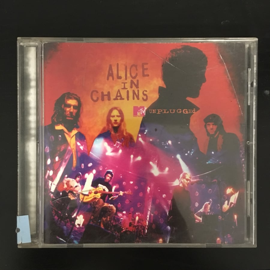 Alice in Chains unplugged album cd