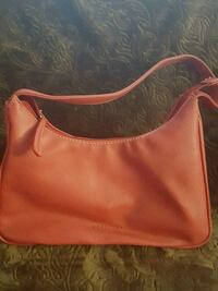 women's red leather hobo bag Magna, 84044