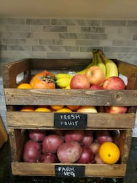 Hand Made Fruit and Veg Stand Vaughan, L4L 1A6