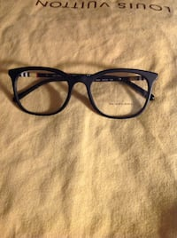 black framed Ray-Ban eyeglasses Vaughan