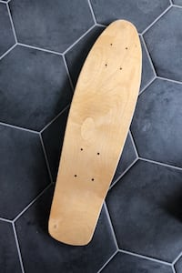 Home made penny board deck