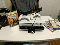Xbox 360 + kinect + guitar hero 3 and other games Mississauga, L5J 1S2