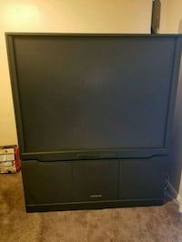 black rear-projection TV Washington