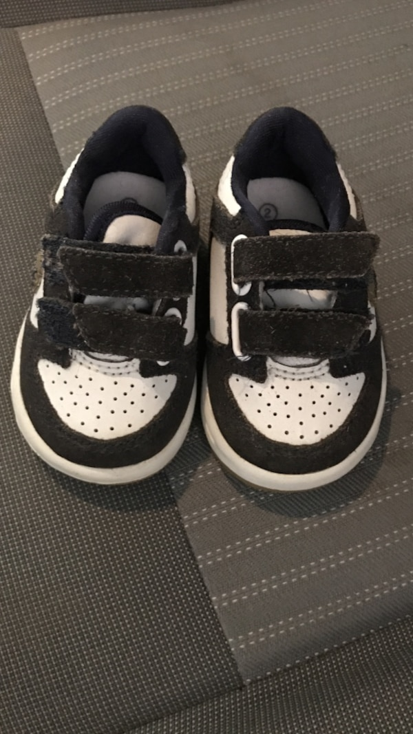 9ae3c28df55518 Used Infants black-and-white velcro shoes for sale in Blackman - letgo