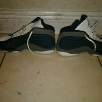 pair of black-and-gray Nike basketball shoes West Palm Beach, 33407