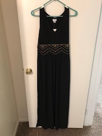 Jaclyn Smith Black Maxi Dress Large New w/tags Henderson, 89052