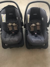 Cosco Light-n- Comfy Twin Car Seats $120 for both $60 each  Laurel, 20723