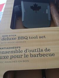 non-stick deluxe BBQ tool set ON, K2M 2R4