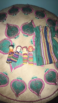 4 worry dolls with pouch from Guatemala | dolls Edmonton, T6X 0K8