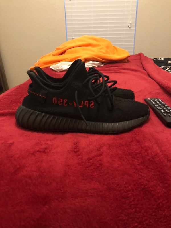 80b5e7b92e656 Used adidas yeezy boost 350 v2 (Bred) size 9.5 for sale in Atlanta - letgo