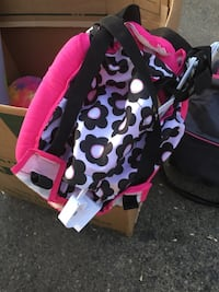baby's black and pink bouncer Modesto, 95354