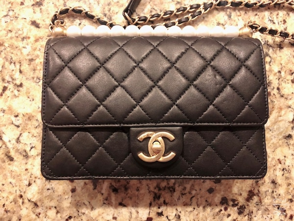 chanel bag lamb leather