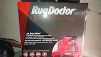red Rug Doctor portable spot cleaner box