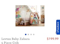 Complete baby bedding set with decor