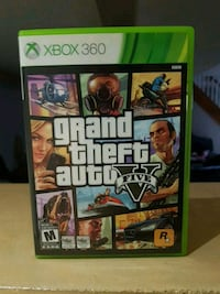 Grand Theft Auto Five Xbox 360 game case Cambridge, N1R 5S4
