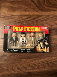 Pulp Fiction boxed figures New Westminster, V3L 3K1