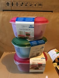 Food storage container - like Tupperware - brand new